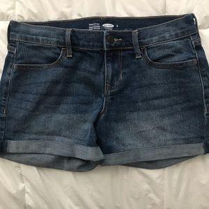 Women's Size 2 Blue Denim Old Navy Shorts